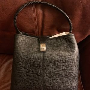 Brighton Black Leather purse